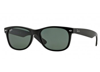 Sunglasses Ray-Ban New Wayfarer RB2132 901L Black Polarized