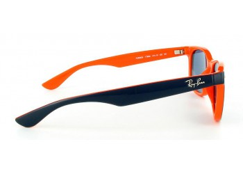 Sunglasses Ray-Ban RJ9052S 178/80 Top Blue On Orange