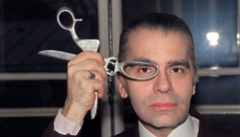 Karl Lagerfel without glasses : We have exclusive pictures